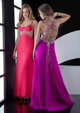 Jasz Couture 4531 Purple Long Formal Beaded Prom Dress Size 2  $398