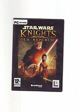 STAR WARS KNIGHTS OF THE OLD REPUBLIC - KOTOR 1 PC GAME - FAST POST - COMPLETE