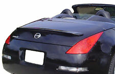 UNPAINTED REAR SPOILER FOR A NISSAN 350Z CONVERTIBLE FACTORY STYLE 2003-2008