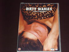 Mia Engberg's 12 Erotic/Lesbian Shorts- OOP DVD Vinegar Syndrome - Dirty Diaries