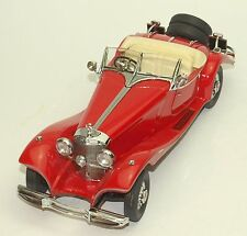 Franklin Mint Mercedes - Benz 500K Oldimer Bj.1935 in rot,  OVP, 1:24, 46b