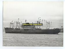 "La939 - Japanese Cargo Ship - London Maru , built 1953 - photo 8.5"" x 7.5"""