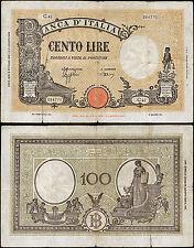 100 Lire Barbetti contrassegno BI 8/10/1943 Azzolini - Urbini