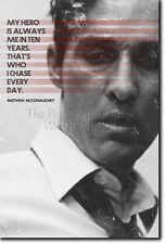 MATTHEW MCCONAUGHEY MOTIVATIONAL QUOTE POSTER PHOTO PRINT ART TRUE DETECTIVE