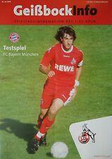 Geißbock Info 26.7.2008 1. FC Köln - Bayern München