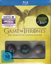 GAME OF THRONES Blu-ray Staffel/Season 5 - limitierte Edition - NEU & OVP