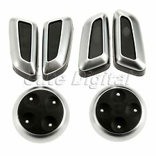 Chrome Door Seat Adjustment Button Switch Cover Trim for AUDI A4 A5 A6 A3 A7 Q5