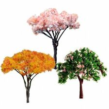 3X Mini Tree Miniature Dolls' House Garden Bonsai Plant Fairy Ornament DIY Decor