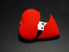 Red Heart Valentines Day Love Cute Gift USB 2.0 Flash Memory Stick Pen Drive 8GB