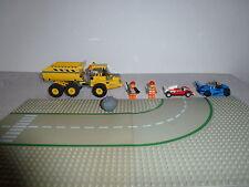 Lego City 7631+2 Rennautos+2 Männer +2 Strassenplatten+ *Rarität*