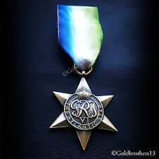 ATLANTIC STAR WW2 MILITARY MEDAL BRITISH COMMONWEALTH OPERATIONAL SERVICE