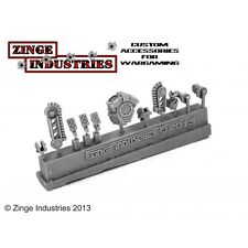 Zinge Industries Robotic Servo Arm Backpacks, Arms, Feet and Optic Sprue S-SER03