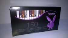 A Box Of 150 Assorted Playboy Cigarette Tubes
