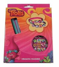OFFICIAL TROLLS DREAMWORKS CHARM BRACELET CHRISTMAS BIRTHDAY GIFT FREE DELIVERY