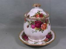 Royal Albert Old Country Roses Preserve Pot & Stand