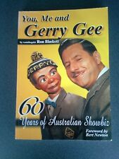YOU ME AND GERRY GEE BOOK FIRST EDITION SIGNED COPY PUPPET LIKE NEW ventrioquist