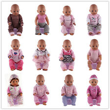Mix 10sets Doll Clothes Wearfor 43cm Baby Born zapf (only sell clothes )