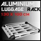 1.3M ALUMINIUM CAR 4WD ROOF RACK BASKET LUGGAGE CARGO CARRIER BOX WITH ROOF RACK