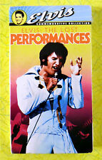 Elvis: The Lost Performances ~ New VHS Movie ~ Elvis Presley Rare Sealed Video