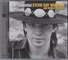 STEVIE RAY VAUGHAN - THE ESSENTIAL on 2 CD's - NEW -