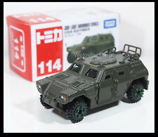 TOMICA #114 JSDF LIGHT ARMOURED VEHICLE JAPAN ARMY 1/66 TOMY DIECAST CAR