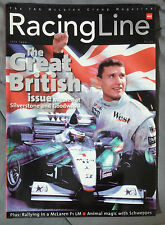 RACING LINE TAG MCLAREN MAGAZINE 1999 JULY INDY F1 BRITISH SILVERSTONE GOODWOOD