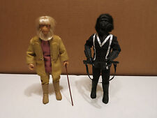 """HASBRO PLANET OF THE APES DR. Zaius & Gorilla Seargeant 12"""" SCALE ACTION FIGURES"""