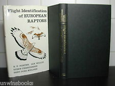 FLIGHT IDENTIFICATION of European RAPTORS Peregrine FALCON Eagle KESTREL Hawk HB