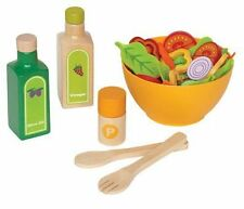 Hape ~ Playfully Delicious ~ Garden Salad Kitchen Play Set ~ wood toy ~ NEW