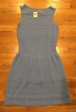 Ralph Lauren Woman's Dress Blue Crochet $169 Anchor Blue  L Large NWT Sleeveless