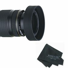 52mm 3-Stage Rubber Lens Hood FOR nikon d3000 d5100 d3100 d3200 d80 d60 18-55mm