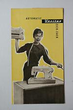 originale Werbung Gebrauchsanleitung DDR Veritas Nähmaschine Automatic (112)