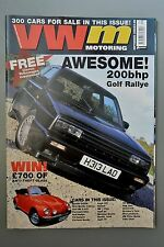 R&L Mag: VW motoring Sept 2000 Golf Ralleye/Polo/Bug Jam/Karmann Ghia