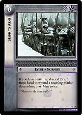 Lord of the Rings CCG Return of the King 7U120 Stand to Arms X2 LOTR TCG