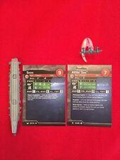 """Axis & Allies War at Sea Miniatures - Shoho & """"Zeke"""" Lot - Carrier + Fighter"""