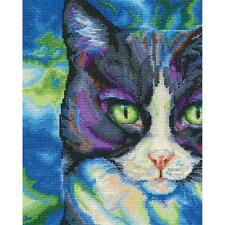Counted Cross Stitch Kit SNOWSHOE Cat By:  DMC