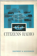 International Citizens Radio Catalog CB Vintage 1964 Citizens Band