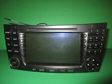 OEM 03-06 Mercedes W211 E320 E500 Navigation GPS Unit Multi Media Player BE7040
