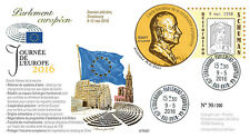 "PE697 FDC European Parliament "" May 9 : Europe Day / Schuman declaration "" 05-16"