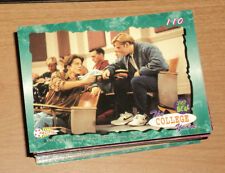 SAVED BY THE BELL COLLEGE YEARS 1994 BASE CARD SET (110 cards)