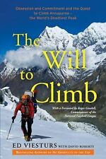 Ed Viesturs - Will To Climb (2014) - Used - Trade Cloth (Hardcover)