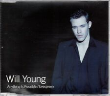 WILL YOUNG - ANYTHING IS POSSIBLE - CD SINGLE