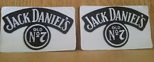 ↗  2 LARGE LOGO ↖ 1990'S Jack Daniels ☆☆ ☆☆ DISCONTINUED CLOTH ☆☆ Patches