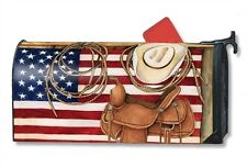 Magnet Works American Cowboy Magnetic Mailbox Wrap Cover