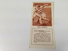 FOOTBALL BISCUITS REM REIMS ROGER RANZONI ; 50s NO PANINI