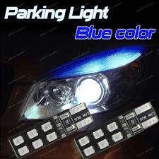 2-pc Deep Blue Error Free T10 2825 W5W LED Bulb For Car Parking Position Light D