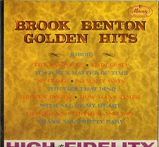 "BROOK BENTON ""GOLDEN HITS"" POP SOUL 60'S LP MERCURY 20607"