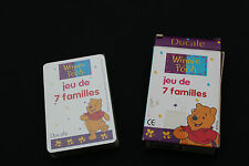 P1362 France cartes Ducale Ancien jeu de 7 familles disney WINNIES THE POOH