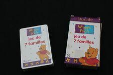 P1362 France cartes Ducale Ancien jeu de 7 familles disney WINNIES THE POOH