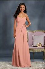 Alfred Angelo bridesmaids dress style 7373L Salmon